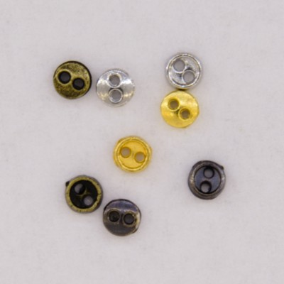 Metal Buttons 3mm