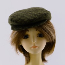 Flat Top Hat for Dolls, Handmade
